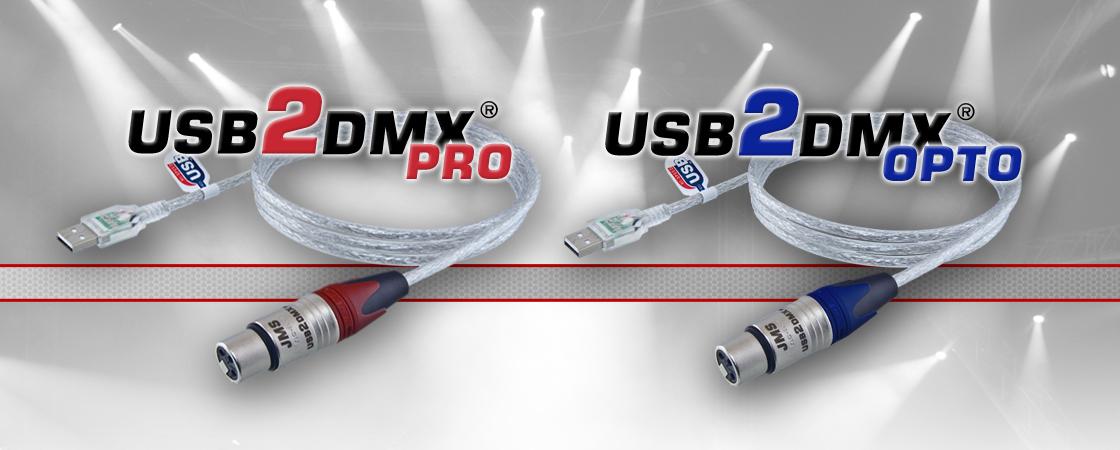 USB2DMX Pro & Opto