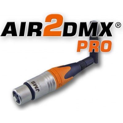 AIR2DMX PRO WLAN DMX Interface ArtNet Node