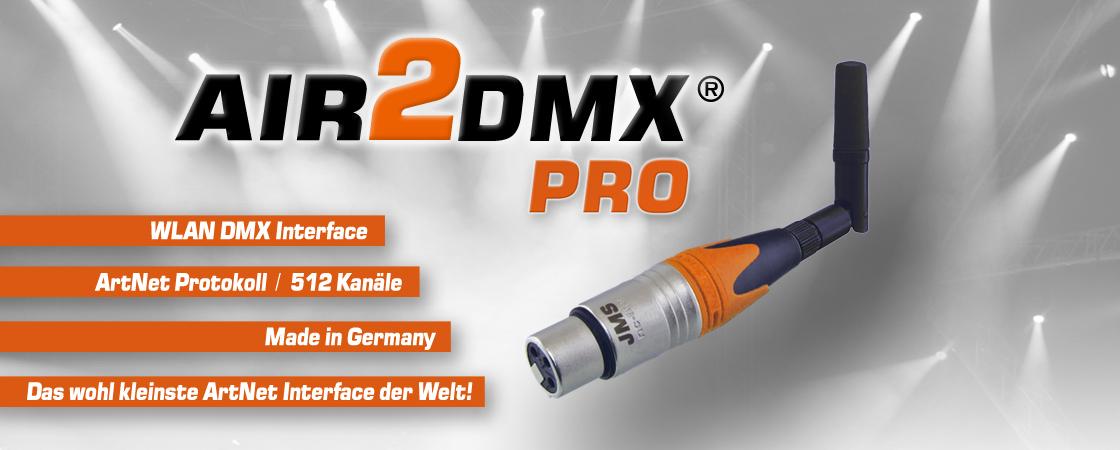 Wireless DMX WLAN  ArtNet AIR2DMX PRO