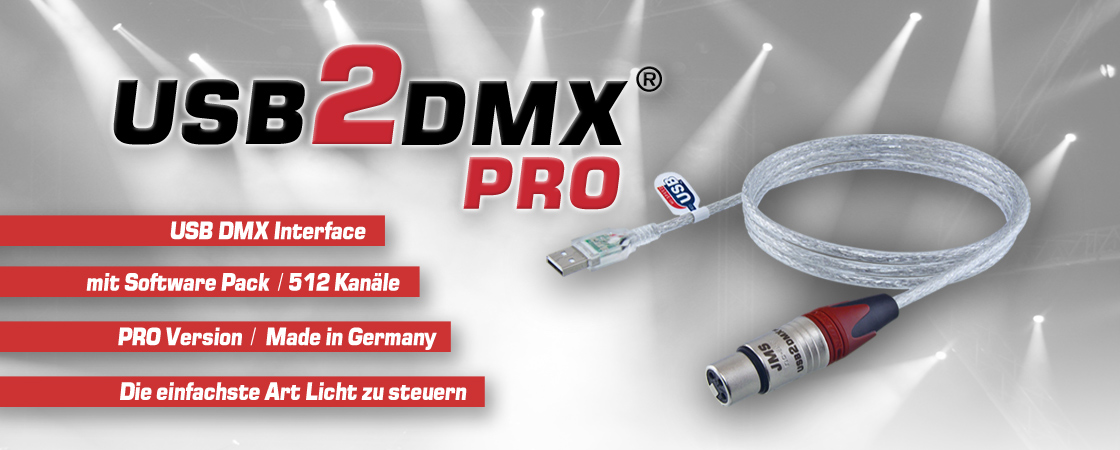 DMX Interface USB2DMX PRO Controller